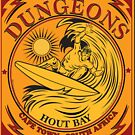 DUNGEONS SURFING CAPE TOWN SOUTH AFRICA by Larry Butterworth