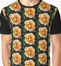 Orange You Glad You Stopped to Smell the Roses Graphic T-Shirt