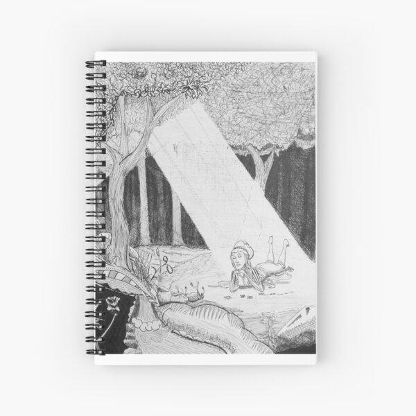 Sunlit Sward Spiral Notebook