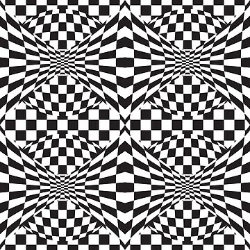 Op Art Pattern by Lisann