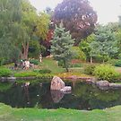 The Japanese Garden by TalBright