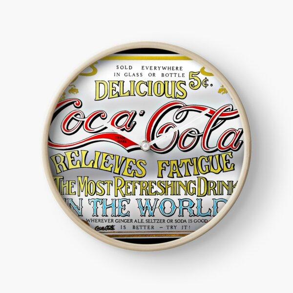 Coca Cola Advertisement - Vintage Clock