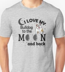 Gifts for Bulldog Lovers - French English Bulldogs Unisex T-Shirt