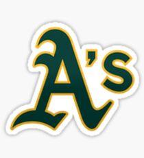 Oakland A's A Logo Sticker