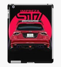 Speedhunters - RED Subaru Impreza WRX STI iPad Case/Skin