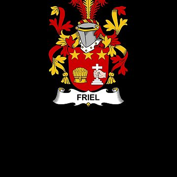 Friel Coat of Arms - Family Crest Shirt by FamilyCrest