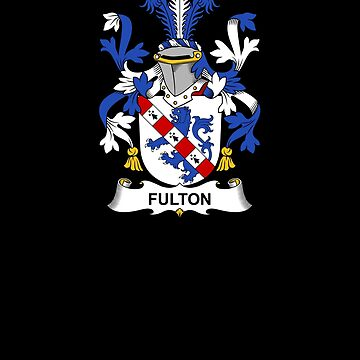 Fulton Coat of Arms - Family Crest Shirt by FamilyCrest