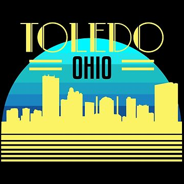 Toledo Ohio Hometown Glass City Christmas Gift Ideas by kh123856