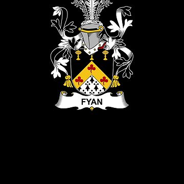 Fyan Coat of Arms - Family Crest Shirt by FamilyCrest
