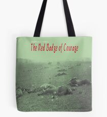 Crane's The Red Badge of Courage Tote Bag