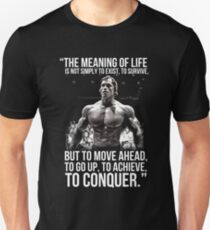 The meaning of life - Arnold Schwarzenegger (HD) Unisex T-Shirt