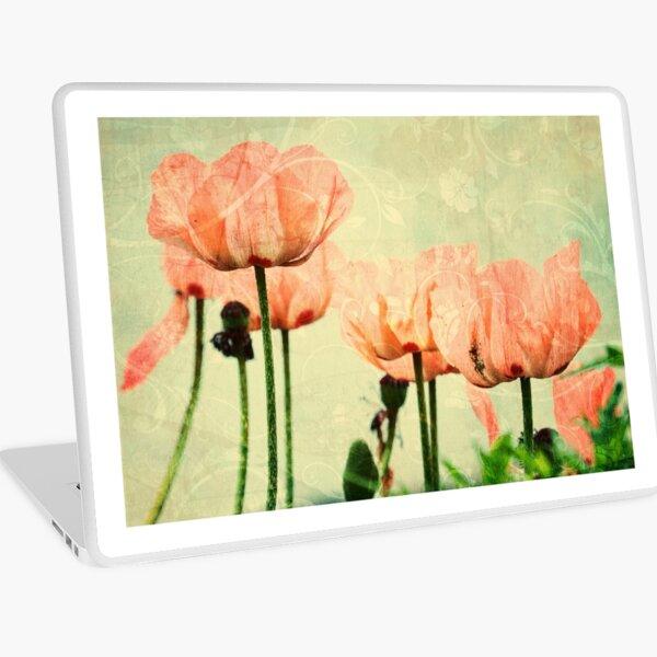 Pink Poppies Laptop Skin