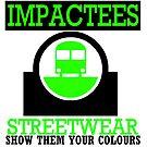 IMPACTEES STREETWEAR TRAIN LOGO GREEN by IMPACTEES