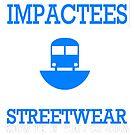 IMPACTEES STREETWEAR TRAIN LOGO BLUE by IMPACTEES
