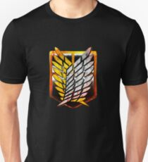 Wings of Freedom - Attack on Titan Design Unisex T-Shirt