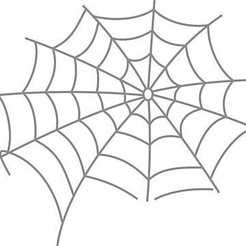 Spider web #Spider #web #SpiderWeb #illustration #arachnid #trap #design #vector #shape #pattern #silhouette #abstract #nature #webtogether #element #horizontal #whitecolor #blackandwhite #monochrome by znamenski