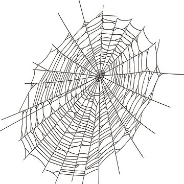 Spider web #Spider #web #SpiderWeb #structure #lineart #symmetry #circle #illustration #chalkout #design #vector #abstract #art #shape #vertical #whitecolor #bright #copyspace #drawingartproduct by znamenski