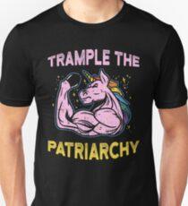 Trample The Patriarchy Frauen Feministisch  Slim Fit T-Shirt