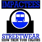 IMPACTEES STREETWEAR TRAIN LOGO BLUE 2 by IMPACTEES