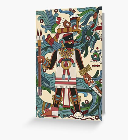 Tezcatlipoca II Greeting Card