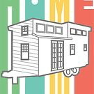 Home… Tiny Home Stickers by TinyByLogan