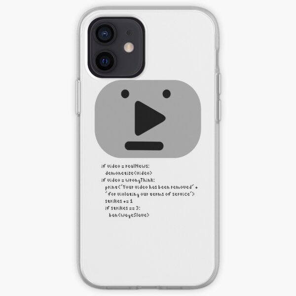 NPC Video Platform for Youthful and Independent Creators With Correct Opinions iPhone Soft Case