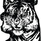 Tiger_BW by MarkMakerPro