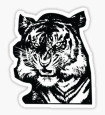 Tiger_BW Sticker