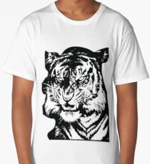 Tiger_BW Long T-Shirt