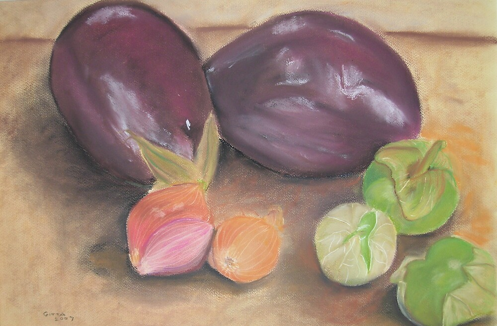 From A Gourmet Kitchen by Gitta Brewster