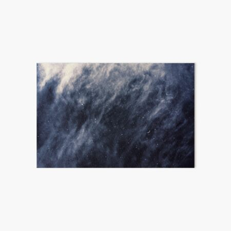 Blaue Wolken Galeriedruck