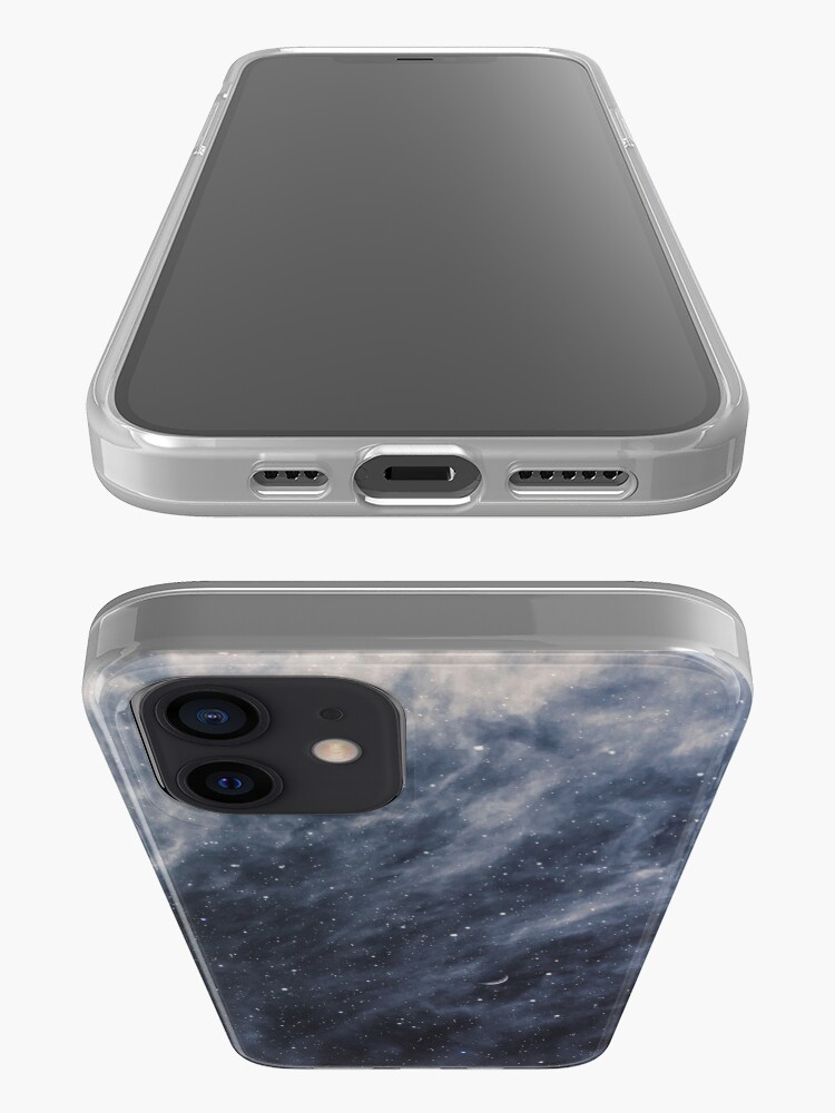 Alternate view of Blue Clouds, Blue Moon iPhone Case & Cover
