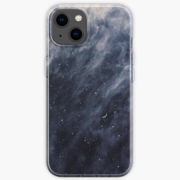 Blue Clouds, Blue Moon iPhone Soft Case