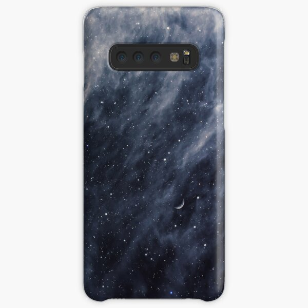 Blue Clouds, Blue Moon Samsung Galaxy Snap Case