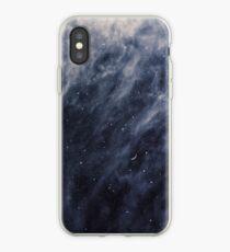 Blaue Wolken, blauer Mond iPhone-Hülle & Cover