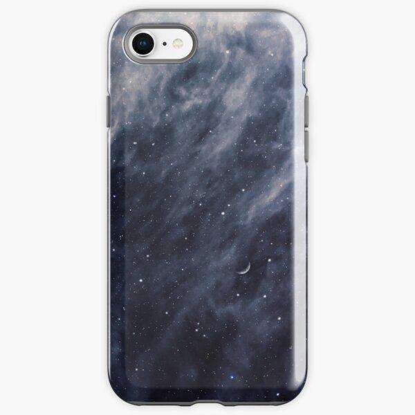Blue Clouds, Blue Moon iPhone Tough Case