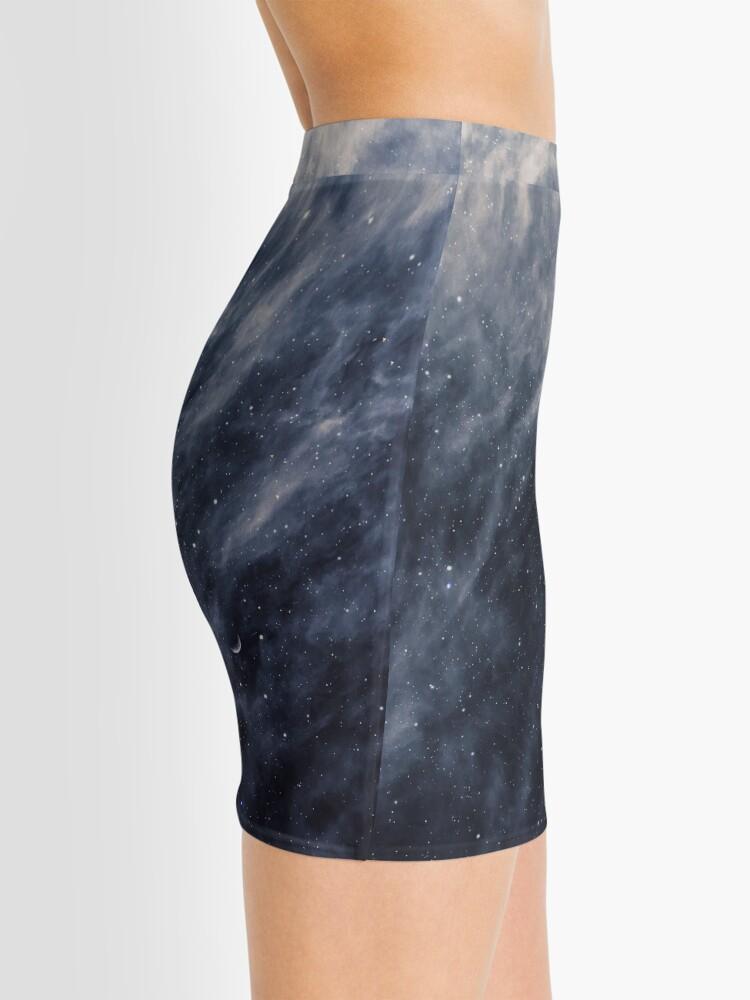 Alternate view of Blue Clouds, Blue Moon Mini Skirt