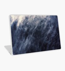Blue Clouds, Blue Moon Laptop Skin