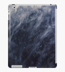 Blue Clouds, Blue Moon iPad Case/Skin