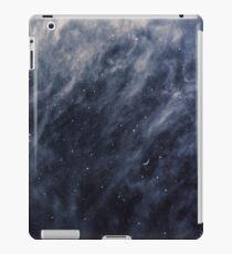 Blue Clouds, Blue Moon iPad Case/Skin
