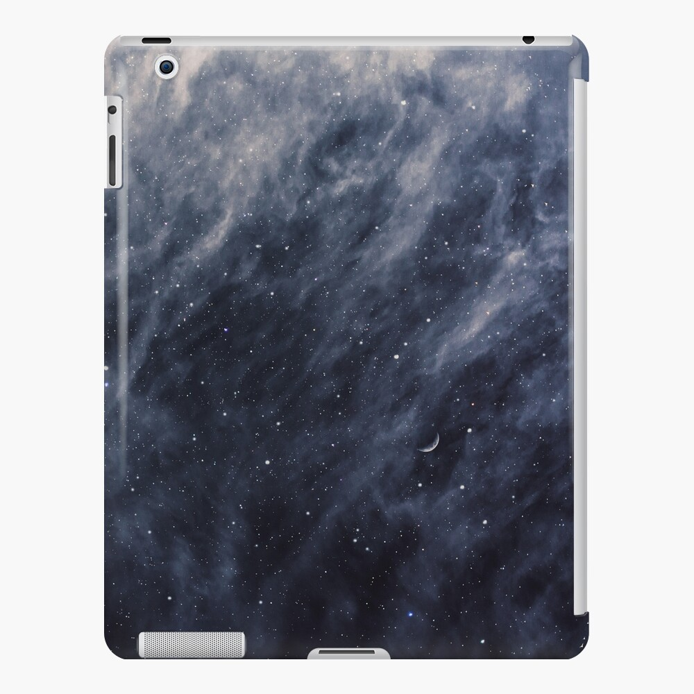 Blue Clouds, Blue Moon iPad Case & Skin