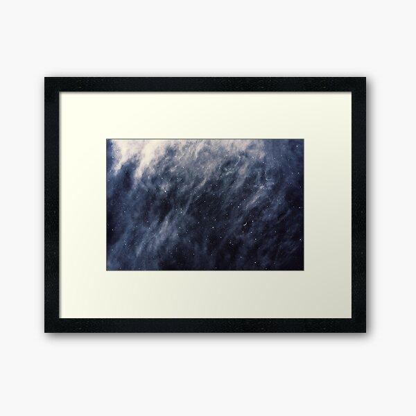 Blaue Wolken Gerahmter Kunstdruck