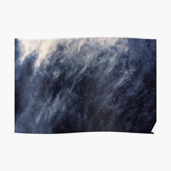 Blue Clouds, Blue Moon Poster
