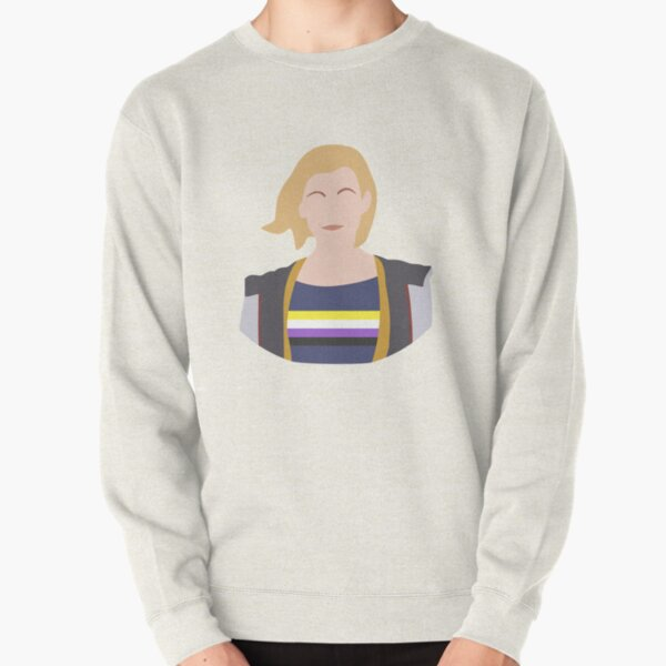 13th Doctor - Non-Binary Pride Pullover Sweatshirt