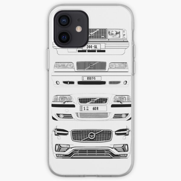 Volvo Fab Four Chassis iPhone Soft Case