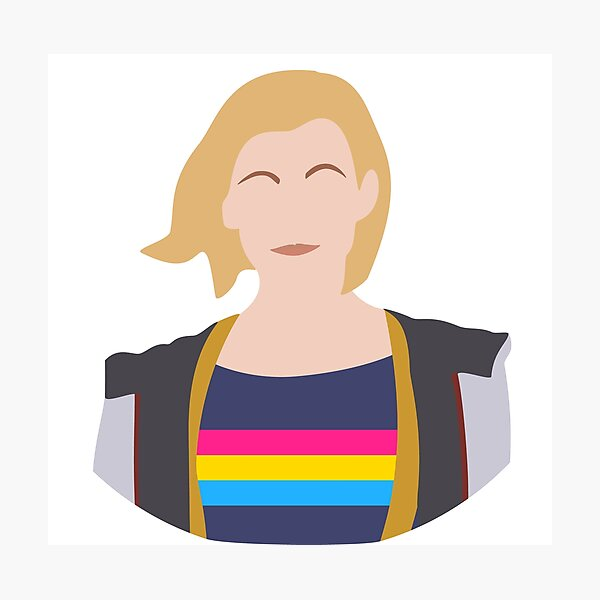 13th Doctor - Pansexual Pride Photographic Print