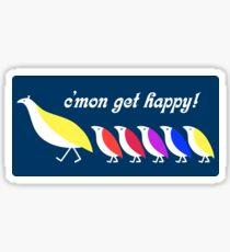 Partridge Family Shirt Sticker