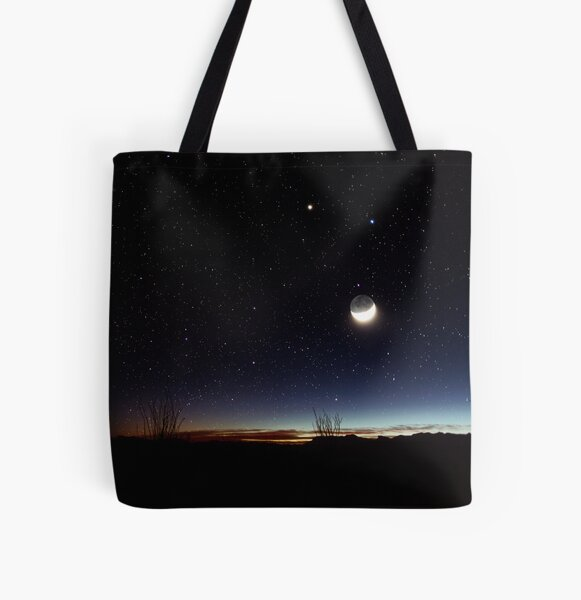 road trip to Big Bend All Over Print Tote Bag