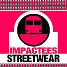 IMPACTEES STREETWEAR LOGO TRAIN PINK by IMPACTEES