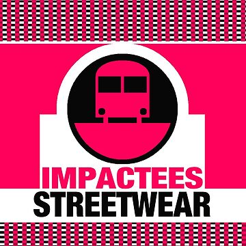IMPACTEES STREETWEAR LOGO TRAIN PINK by IMPACTEES